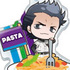 Ace of Diamond Acrylic Food Keychain: Sanada Shunpei