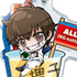 Ace of Diamond Acrylic Food Keychain: Sawamura Eijun