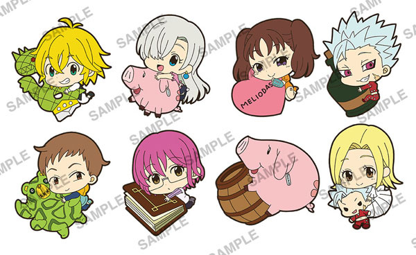 the seven deadly sins pitacolle rubber strap king my
