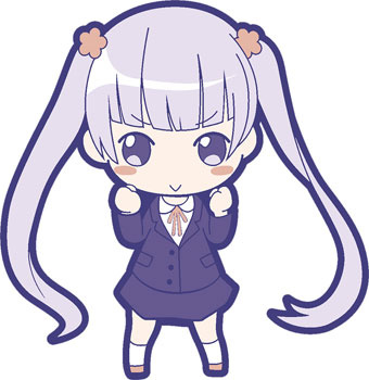 main photo of NEW GAME! Poppuchi Rubber Collection: Suzukaze Aoba