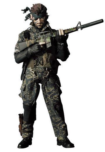 main photo of Real Action Heroes No.228 Naked Snake Camouflage Ver.