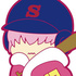 Eformed Ace of Diamond Futonmushi Rubber Strap: Kominato Haruichi