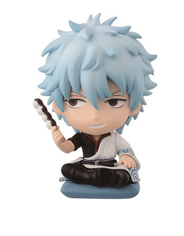 main photo of Ichiban Kuji Gintama ~Delicious things are made of sugar and Mayo~: Sakata Gintoki Chibi Kyun-Chara Set