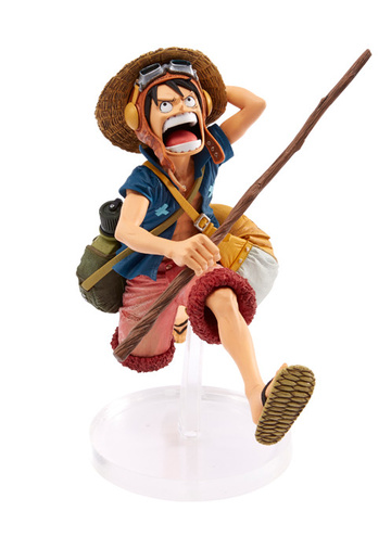 main photo of Figure Colosseum SCultures Zoukeiou Chojho Kessen IV Vol.4 Monkey D. Luffy