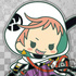 -es series nino- Touken Ranbu Unit 2 Rubber Strap Collection: Iwatooshi