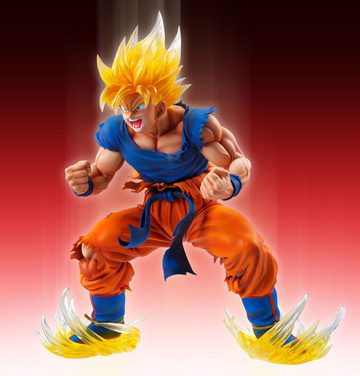 main photo of Super Figure Art Collection Son Goku SSJ Ver.2 Clear Hair Edition