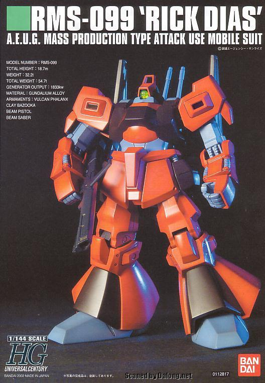 Image result for HGUC 1/144 Rick Dias Red