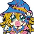 Yu-Gi-Oh! Duel Monsters Tsumamare Pinched Strap: Black Magician Girl