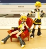 photo of figma Rin Kagamine
