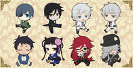 photo of Kuroshitsuji Book of Murder Petanko Trading Rubber Strap: Ciel Phantomhive