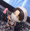 photo of Nendoroid Levi Cleaning ver.