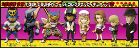 photo of Tiger & Bunny World Collectable Figure Vol.2: Kaburagi T. Kotetsu