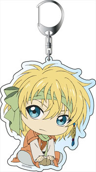 main photo of Akatsuki no Yona Deka Keychain: Zeno ver.2