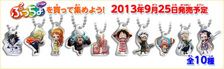 photo of One Piece Log Memories Plate Keychain: Nami, Franky