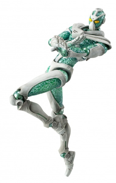 Super Action Statue 5 Hierophant Green My Anime Shelf