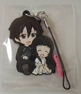 main photo of Pic-Lil! Sword Art Online II Trading Rubber Strap Kirito Collection: Kirito and Yui
