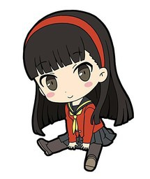 main photo of Persona 4 the Golden Petanko Trading Rubber Strap: Amagi Yukiko
