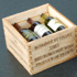 Wooden Form Series Wine Bottle and Wooden Box
