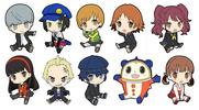 photo of Persona 4 the Golden Petanko Trading Rubber Strap: Amagi Yukiko