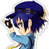 Persona 4 Dancing All Night Acrylic Strap Collection Vol.1: Naoto Shirogane