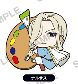 main photo of Arslan Senki PitaColle Rubber Strap: Narsus