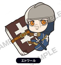 main photo of Arslan Senki PitaColle Rubber Strap: Etoile
