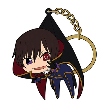 main photo of Code Geass Tsumamare Pinched Keychain: Lelouch Lamperouge