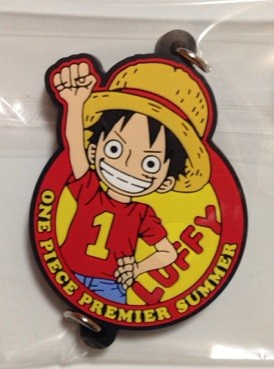 main photo of One Piece Premier Summer Keychain Collection: Monkey D. Luffy