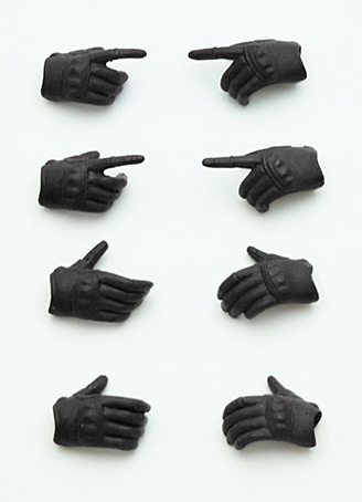 main photo of Little Armory (OP03) figma Tactical Glove Stealth Black