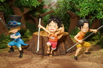 photo of Figuarts ZERO Luffy & Ace & Sabo -Gikyoudai no Yakusoku-
