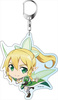 photo of Sword Art Online II Deka Keychain: Leafa