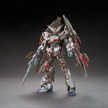 main photo of HGUC RX-0 Unicorn Gundam 03 Phenex [Destroy Mode] Ver.GFT Silver