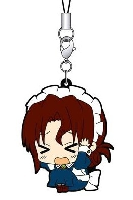 main photo of Hayate the Combat Butler! ViVimus Rubber Strap Collection: Maria