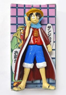 main photo of One Piece Real Figure in Box 3: Monkey D. Luffy