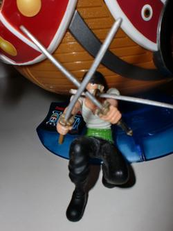 main photo of One Piece Magnetic Model Vol.1: Roronoa Zoro
