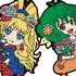 Ichiban Kuji Premium Macross F ~Harusaki dori! Utahime Collection!!~: Ranka Lee & Sheryl Nome Kyun-Chara Illustrations Rubber Strap
