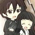 Pic-Lil! Sword Art Online II Trading Rubber Strap Kirito Collection: Kirito and Yui