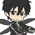 Pic-Lil! Sword Art Online II Trading Rubber Strap Kirito Collection: Kirito ALO ver.2