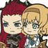 Ichiban Kuji Tales Of Series 20th Anniversary: Asch & Natalia Rubber Strap