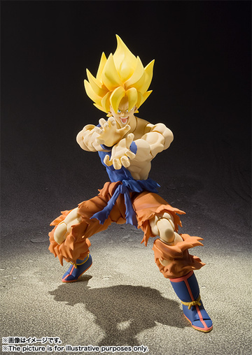 main photo of S.H.Figuarts Son Goku SSJ Super Warrior Awakening Ver.