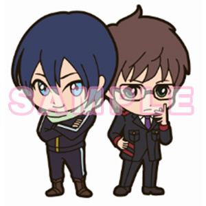 main photo of Noragami Aragoto Rubber Strap Collection: Yato & Kazuma