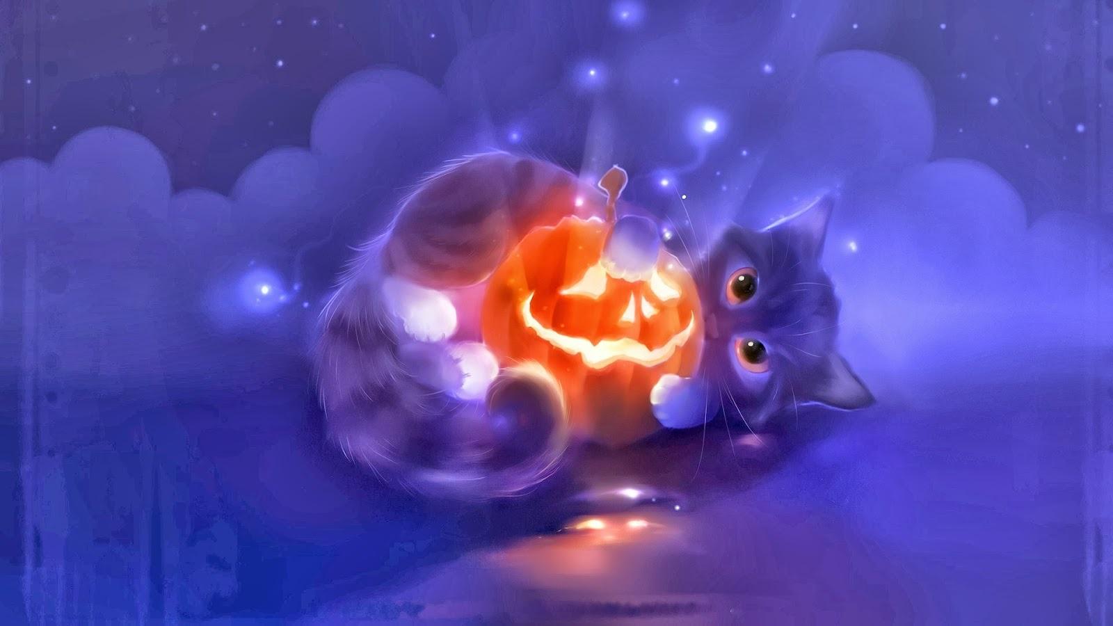 Most Inspiring Wallpaper Halloween Kitten - Halloween-Cute-pumpkin-head-cat-holiday-hd-wallpaper-1  Snapshot_866480.jpg