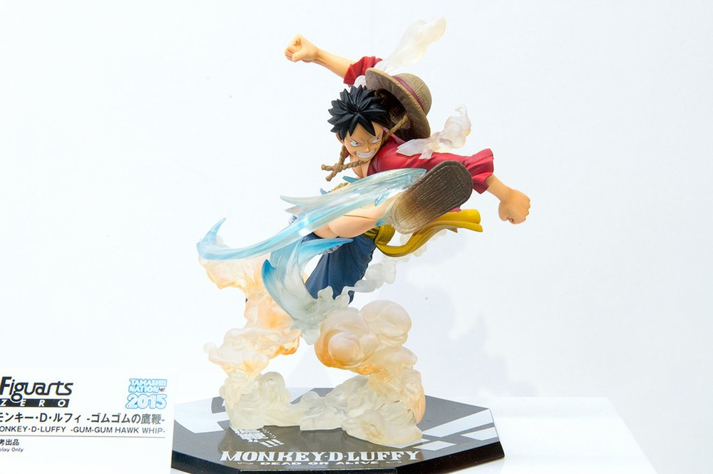 Figuarts Zero Monkey D Luffy Gum Gum Hawk Whip My Anime