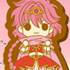 Magic Knight Rayearth Deformed Rubber Charm Vol. 2: Shidou Hikaru