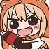 Himouto! Umaru-chan Tsumamare Pinched Keychain: Umaru Together with Cola ver.