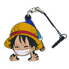 photo of ONE PIECE Tsumamare Pinched Strap: Luffy (Early Childhood Ver.)