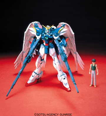 main photo of HG XXXG-00W0 Wing Gundam Zero Custom