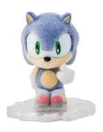 main photo of Sonic the Hedgehog Flocked Mini Figures: Sonic the Hedgehog