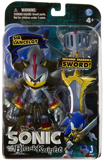 main photo of Sonic Black Knight Series: Shadow as Sir Lancelot