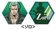 photo of One Piece Rotating Keychain: Zoro